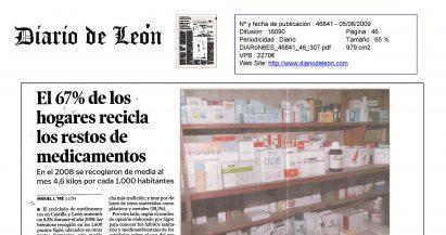Datos de funcionamiento de SIGRE en León y en Castilla y León
