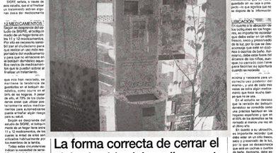 La forma correcta de cerrar el ciclo de vida del medicamento, en Melilla Hoy