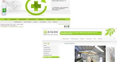 SIGRE.es renueva su diseño y actualiza los contenidos