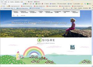 SIGRE edita su primera Memoria de Responsabilidad Social