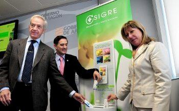 """SIGRE presenta en Aragón la campaña """"receta salud + receta medio ambiente"""""""