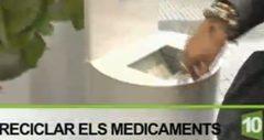 El reciclaje de medicamentos, en Canal Reus TV