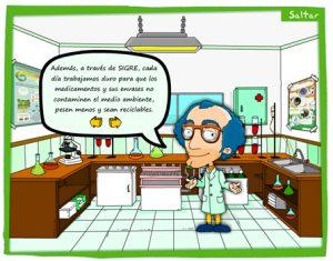 Laboratorio farmacéutico en Sigrelandia