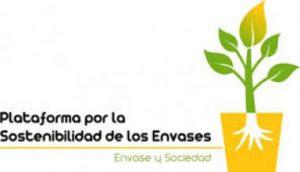 Logotipo de la Plataforma por la Sostenibilidad de los Envases