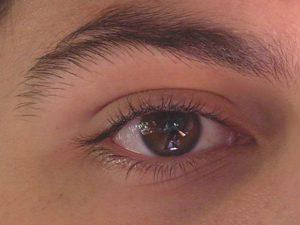 Imagen de un ojo, en el Día Mundial de la Vista 2013