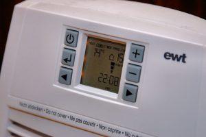 Es importante revisar la temperatura de los programas de calefacción