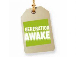 Logotipo de la campaña Generación Awake