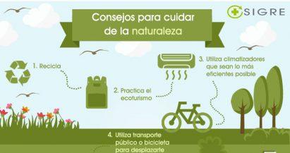 Seis consejos para cuidar del medio ambiente