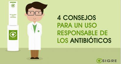 4 consejos para un uso responsable de los antibióticos