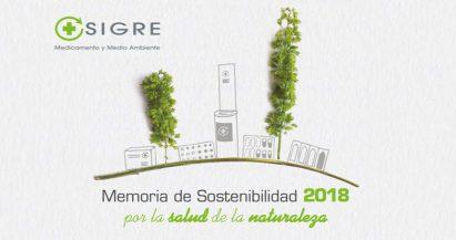 Publicada la Memoria de Sostenibilidad 2018 de SIGRE