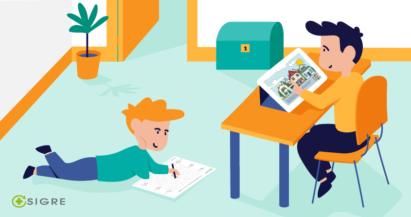 Las herramientas digitales de SIGRE facilitan el aprendizaje a distancia