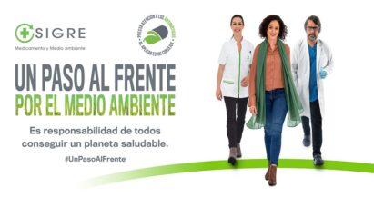 """""""Un paso al frente por el medio ambiente"""", la nueva campaña de concienciación de SIGRE"""